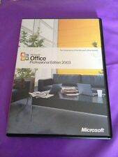 MICROSOFT OFFICE 2003 PROFESSIONAL UPGRADE FOR WINDOWS RETAIL WITH PRODUCT KEY