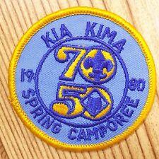 Vintage Boy Scout Patch Badge Kia Kima Spring Camporee BSA 1980