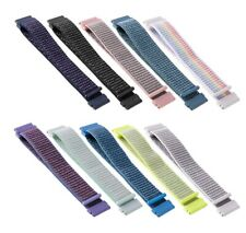 AU_ BU_ 22mm Universal Magic Tape Nylon Watch Band Strap for Huawei GT Active No
