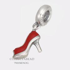Authentic Pandora Sterling Silver Red Stiletto Enamel Bead 792154EN09