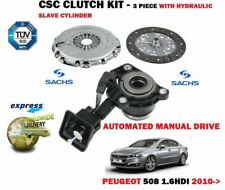 FOR PEUGEOT 508 1.6HDI AUTOMATED MANUAL 2010-> CLUTCH KIT + SLAVE CYLINDER