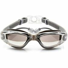 New listing LuSeMi Swim Goggles Adult Kids Uv Protection Anti-Fog Earplugs Case (Grey)