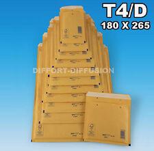200 enveloppes à bulles A4,T4,D,4 taille DVD 175x265