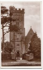 Sussex; St Andrew's Church, Fairlight RP PPC, Unposted, By Tuck