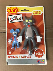 itchy and scratchy Bendables - The Simpsons