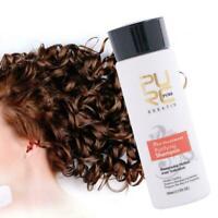 Keratin Haar Richt Behandlung Schlag Trockenen Shampoo 100ml Kit Z8D1