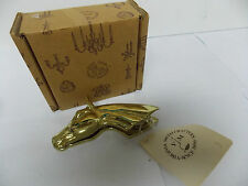 Virginia Metalcrafters Brass Horse Head Clip New/ Old Stock in Original Box