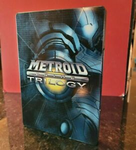 Metroid Prime Trilogy Steelbook W/ Game and Manual WII