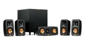 New Open Box Klipsch Reference Theater Pack 5.1 Surround System Home Theater
