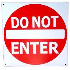 DO NOT ENTER Tin Sign Metal Brand New GARAGE Man Cave Teen Room KIDS ROOM Cubby