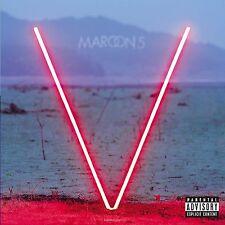 Maroon 5 - V Explicit Version Audio CD NEW