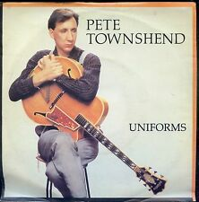 7inch PETE TOWNSHEND uniforms HOLLAND 1982 EX +PS THE WHO