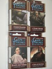 Beyond the Narrow Sea chapter pack lot of 4 NEW Game of Thrones LCG expansion