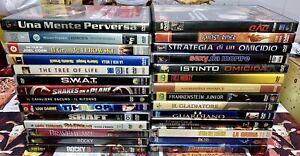 Lotto 30 Dvd - Rocky, Brad Pitt, Il Gladiatore, Swat, Etc Etc 29,99€ Spediti