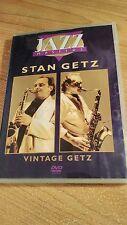 Stan Getz Vintage Getz DVD Jazz Masters