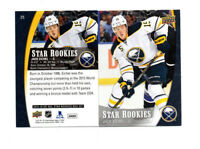 12 count lot 2015/16 UD Star Rookies Jack Eichel box set lot!  NHL STAR RC LOT!!