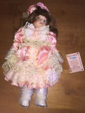 Original Vanessa Porcelain Doll Collection Special Edition 1997 With COA