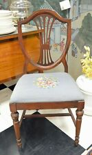 ANTIQUE QUEEN ANNE SIDE CHAIR