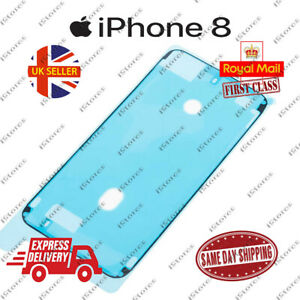 Black iPhone 8 LCD Screen Frame Adhesive Waterproof Seal Sticker Replacement
