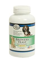 Four Paws Brewers Yeast Garlic Flavored Dog and Cat Tablets, 500 Count