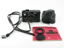 Leitz Wetzlar Leica CL Messsucher range finder Summicron-C 1:2/40 + Tasche case