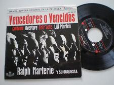 """VENCEDORES O VENCIDOS OST Ralph Materie SPAIN EP VINYL 1962 DISCO DE VINILO 7"""""""