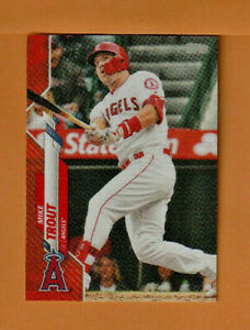 2020 MIKE TROUT TOPPS ON DEMAND MINI RED PARALLEL CARD #1 - SERIAL #2/5  WOW