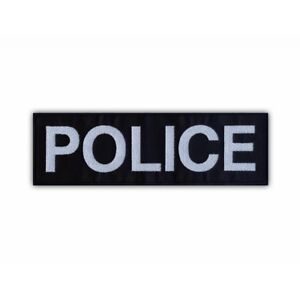 POLICE - large Embroidered PATCH/BADGE