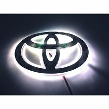 LED Car Logo White light for Toyota Corolla Crown Yaris Vios Auto Badge Light