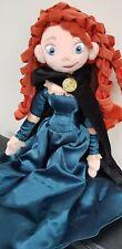 "Disney Store Brave 20"" Merida soft toy plush doll plus Disney Brave Bag"