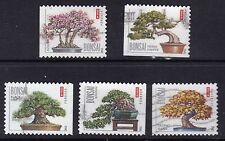 Scott #4618-22 Used Set of 5, Bonsai Trees (Off Paper)
