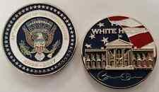 White House President of the U.S. Barack Obama Signature 44 Eagle Breast POTUS