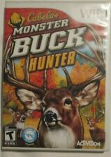 Nintendo Wii Cabela's Monster Buck Hunter (Manual, box and game)