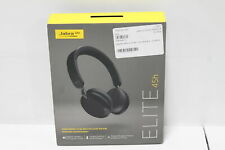 Jabra Elite 45h, Titanium On-Ear Wireless Headphones Lightweight Design -Black