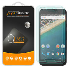 2X Supershieldz Tempered Glass Screen Protector Saver Shield For LG Nexus 5X
