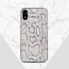 Snake Skin iPhone 11 Max XS X Case Animal iPhone XR 7 8 Plus Silicone Cover XS