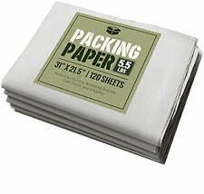 Newsprint Packing Paper: 5.5 lbs (~125 Sheets) of Unprinted, Clean Newsprint
