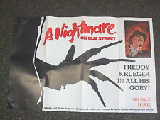 "A Nightmare On Elm Street Marvel Comics Promo Poster 22""x 33"" Excellent Cond."