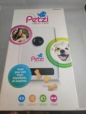 Petzi Treat Cam Wi-Fi Pet Camera Treat Dispenser. Open Box Condition.