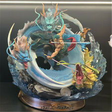 One Piece Roronoa Zoro Statue GK Resin Figurine Black Pearl Original Artbox New