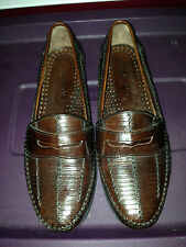 G.H. Bass & Co. Loafers Slip On Leather Burgundy Shoes EUC 9 1/2M