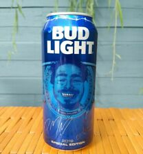 Post Malone Bud Light Limited EMPTY Beer Can Tab Intact Posty Fan Gift Present .