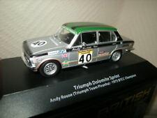 1:43 Atlas Edition Triumph Dolomite Sprint #40 1975 BTCC Champion in VP
