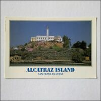 Alcatraz Island San Francisco Bay 1995 Postcard (P410)
