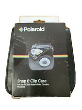 Polaroid Snap & Clip Camera Case For The Polaroid PIC-300 Instant Camera Black
