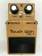 BOSS TW-1 Touch Wah MIJ Silver screw Vintage Guitar effect pedal F/S (8700)