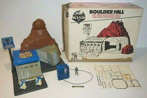 ++ ancien jouet vintage base / centre de commande MASK BOULDER HILL en boite ++