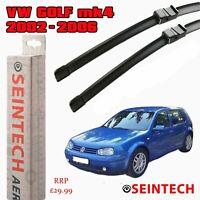 "VW GOLF MK4 2002-2005 SPECIFIC FIT FRONT WINDSCREEN WIPER BLADES 21""19"" SEINTECH"