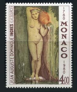 """Monaco: 1980 Ingres """"The Source"""" Mint"""