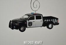 Police '14 Dodge RAM 1500 Sport Crew Cab Truck Long Box Bed Christmas Ornament